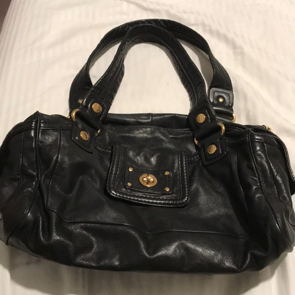 Marc By Marc Jacobs Handbags - Marc by Marc Jacobs Black Leather Satchel Handbag